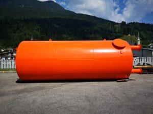 serbatoio su misura silos verticale